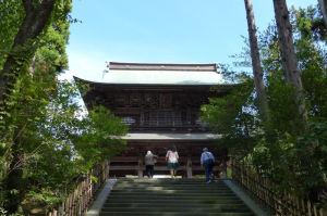 山門の石段