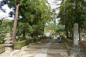 県道21号線からの円覚寺