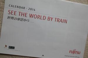 「世界の車窓から」2014年カレンダー