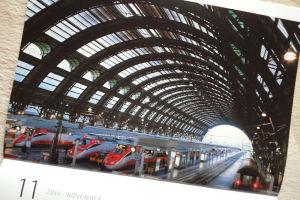 イタリア、ミラノ中央駅