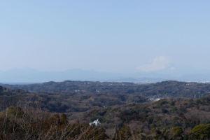 展望台からの富士山