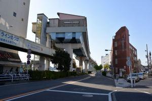 京急線と接続計画のシーサイドライン