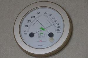 室内の気温も上昇