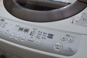 3月購入した洗濯機故障