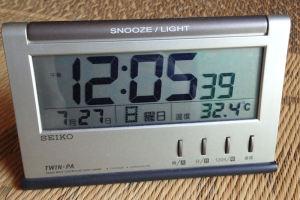 今日も猛暑です