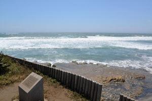 台風11号の高波
