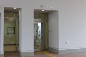 展望室(太鼓堂)の入口