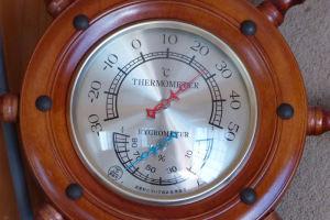 2階の部屋の気温