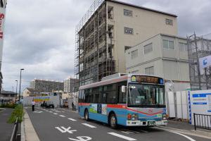 鎌倉行きのバス停