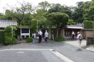 金龍禅院の門前