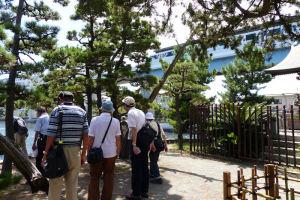 「琵琶島」にも足を運びました
