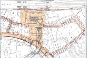 八景駅前道路計画