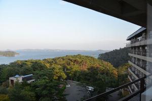 高台にある宿で眺めは最高