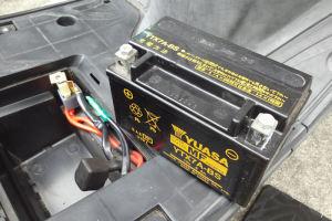 バッテリー充電完了