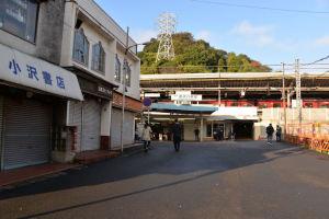 京急金沢八景駅前