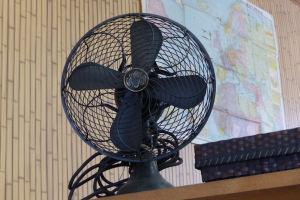 年代物の扇風機