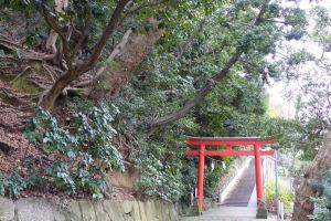 富岡八幡宮境内入口