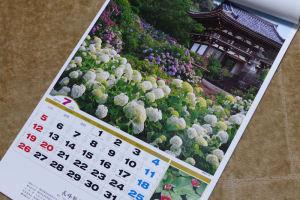 「あじさいの咲く」京都・観音寺