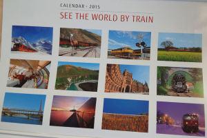 世界各地の鉄路の風景写真