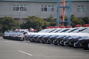 2015神奈川県警察年頭視閲式