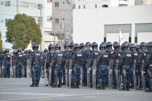 松本県警本部長の訓示