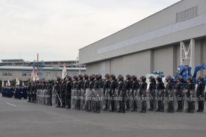神奈川県警年頭視閲式動画