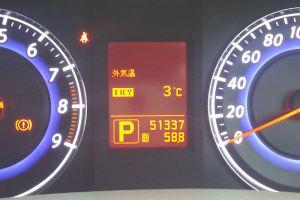 車の外気温は3℃
