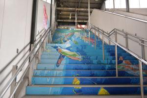 「かいだん水族館」はシーサイド金沢八景駅と