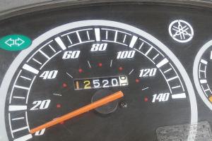 走行距離は12520Km