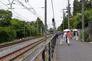 JR北鎌倉で下車