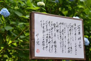 花の寺『明月院』