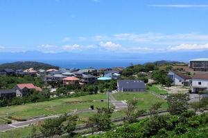 湘南国際村からの夏風景