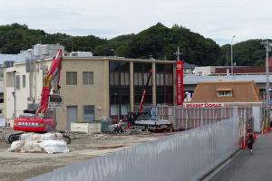 ミスタードーナッツや三菱東京UFJ銀行がみえています