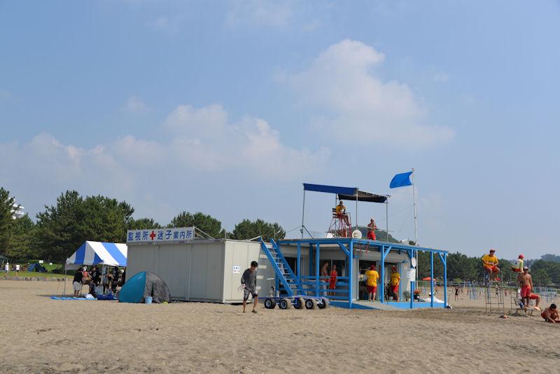 海の公園8月第一日曜日