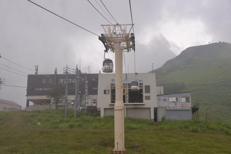 兎平駅、標高1400m