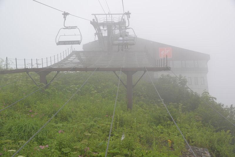 黒菱平駅到着