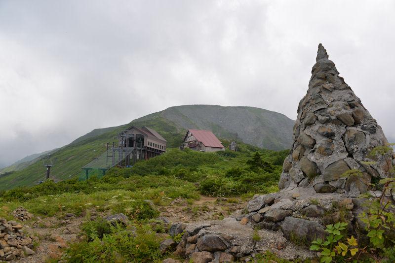 第1ケルン、標高1820m