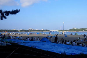 砂浜も広いので