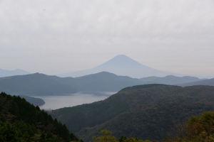 富士山がよく見えていました