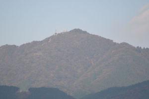北東の大山までは約8、3Km