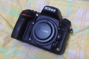 Nikon D610ゴミが写っていた