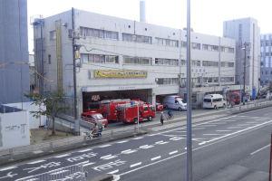 完成と同時に移転する消防署