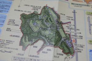 広さは金沢自然公園と同じくらい