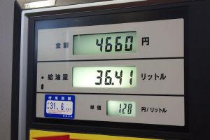 週末のガソリン価格