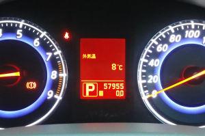 外気温を見たら8度