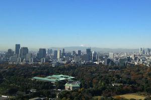 東京大手町からの風景