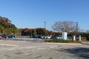 高速から金沢自然公園に直結している駐車場