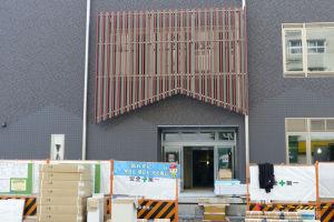 北側の入口