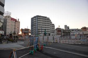 八景駅東口区画整理事業2015年末