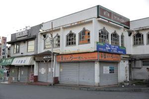 残っていた駅前の店舗